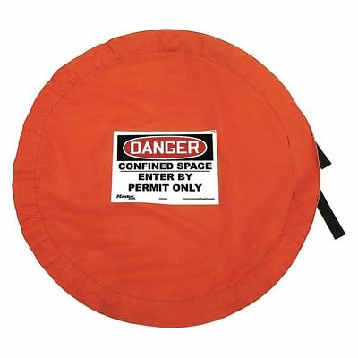 MASTER LOCK S203CSS Confined Space Cover, Lockable, Solid, S
