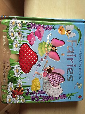 Usborne Sparkly Touchy-feely Fairies Book