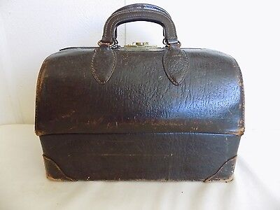 Vintage EMDEE by SCHELL Cowhide Doctor Bag with Fold out Drawers
