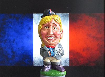 Marine Le Pen (Front National Leader) Caricature figure as Napoleon! (Boxed)
