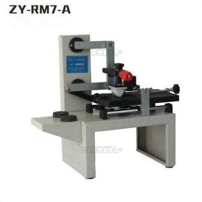 Desktop Zy-Rm7-A Handle Pad Printing Machine Manual Pad Printer Brand New Ink T