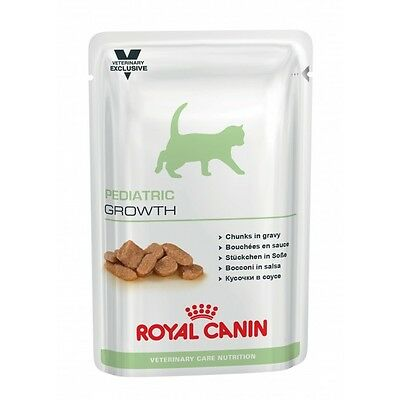 Boîtes Royal Canin Veterinary Care Pediatric Growth pour chats 12 sachets 100 g