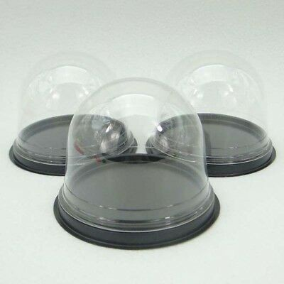 100pcs=50set Clear Plastic Cupcake Cake Dome Wedding Party shower Cake Boxes