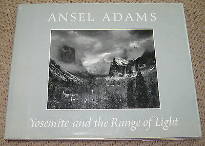 Yosemite And The Range Of Light. Signed By Ansel Adams. First Printing.