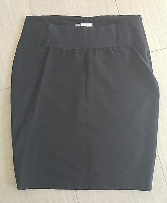 Catriona Rowntree Maternity Black Skirt - Size 12 - FREE POSTAGE