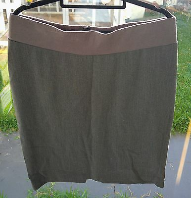 Angel Grey Maternity Skirt - Size Small - FREE POSTAGE