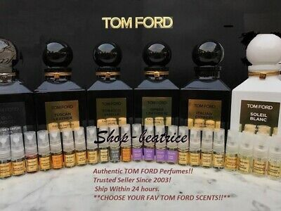 Tom Ford Perfumes.. Choose Your Scents 2Ml Spray Authentic!!