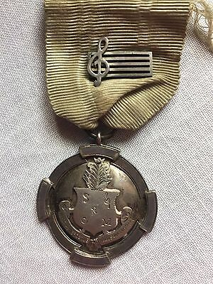 Australian Antique Sterling Silver Fob Medal