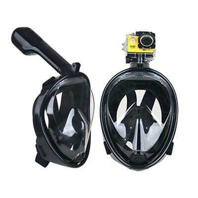 Pro Full Face Diving Seaview Snorkel Snorkeling Mask Swimming Goggles f/ GoPro