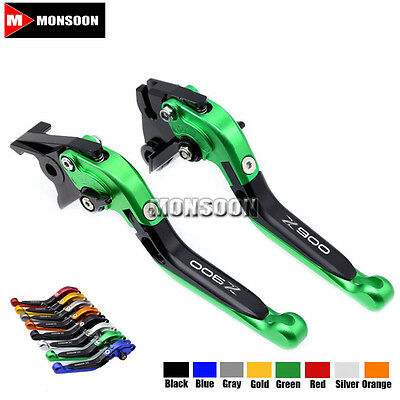 For KAWASAKI Z900 Z 900 2017 Folding Extendable Brake Clutch Levers 8 Colors
