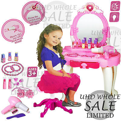 Children Toy Kids Princess Dressing Role Play Girls Mirror Make Up Gift Xmas New