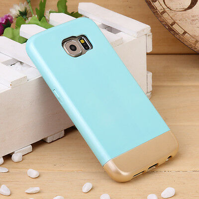 For Samsung Galaxy S6 Durable Rubber Slim Hard Shokcproof Protective Cover Case