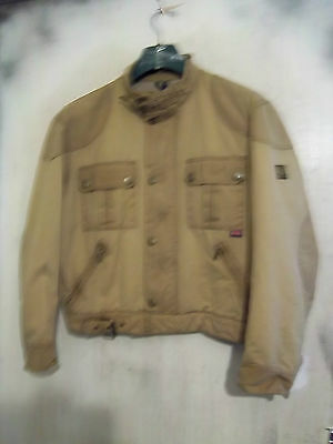 Belstaff Mojave Waxed Motorcycle Jacket Size L
