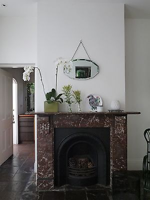 Marble Fireplace from Victorian Terrace