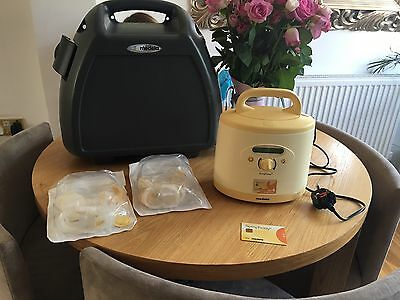 medela symphony breast pump With Case And New Sealed Attachment