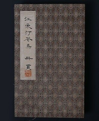 Vintage Rare Old Chinese Hand Painting Landscape Book Marked JiangHanDing PP443