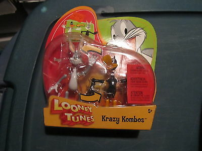 Looney Tunes Krazy Kombos Bugs & Daffy NEW IN PACKAGE