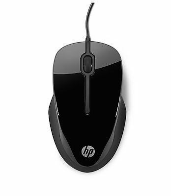 HP X1500 Wired 3-Button Optical Comfort Mouse