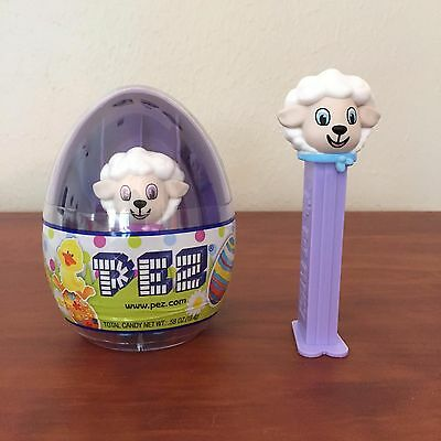 PEZ - 2017 Easter - Lamb & Mini Lamb In Egg - Mint