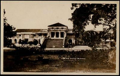 Singapore - Vintage RP Postcard - The Old Castle of Johor, Johore - Real Photo