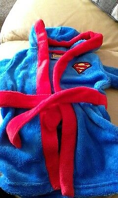 superbaby dressing gown age3-6 months