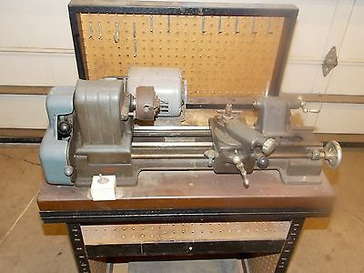 "Craftsman 109 6"" Table Top Metal Lathe with Bench & Tooling (109.20630)"