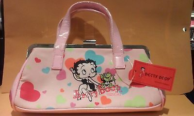 Betty Boop Pink Purse Handbag Brand New with Tag Rare Hard-To-Find Vintage COOL!