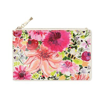 kate spade New York Dahlia Pencil Pouch, 2017 Collection ~ New w/Tag's