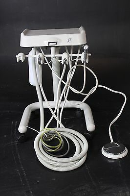 Forest 5910 Dental Delivery System Cart w/ 2 Handpiece Hose Connections