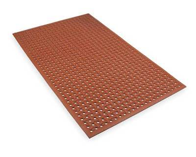 APEX T18S0035RD Reversible Drainage Mat,Red,3 ft.x5 ft.