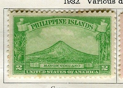 PHILIPPINES:  1932 early pictorial issue Mint hinged 2c. value