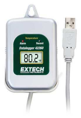 EXTECH 42265 Data Logger, Temperature, -40 to 185 F