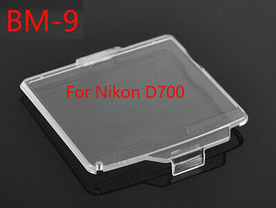 BM-9 Hard Clear Plastic Rear LCD Monitor Screen Cover For Nikon D700 - UK STOCK