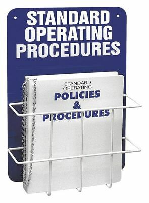 Operation Procedures Center,4-3/4 In. D BRADY SM681A