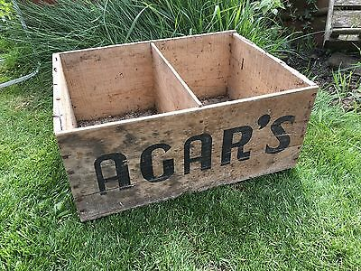 Retro Vintage Wooden Beer Crate Industrial Agar's