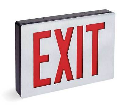 ACUITY LITHONIA Cast Aluminum LED Exit Sign LITHONIA LIGHTING LE S 1 R