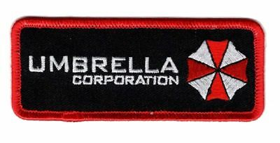 Resident Evil Umbrella Corporation Morale Hook Fastener patch (4.0 x 1.5)