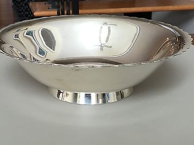 ESTATE TIFFANY & CO VINTAGE STERLING SILVER 1950's CONSOLE BOWL ~ 794.5 GRAMS!