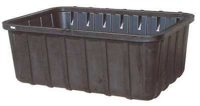 Containment Sump with Drain,Black,360gal