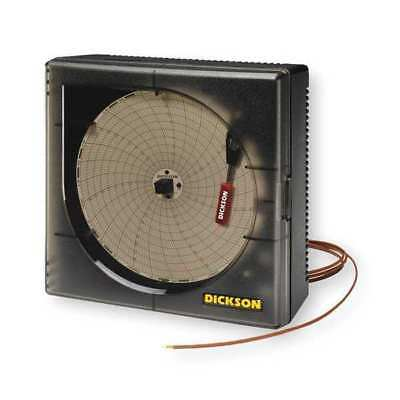 Circular Chart Recorder,Temperature,6 In DICKSON KT6P1