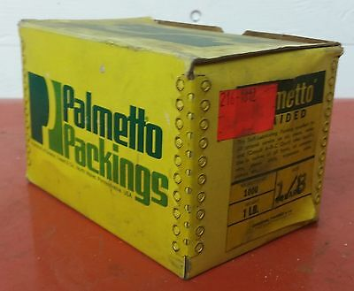 "Palmetto 1/8"" Square Boat Marine Braided Packing 1lb Ship Wares"