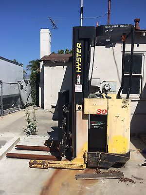 Hyster Electric Reach Standup Forklift