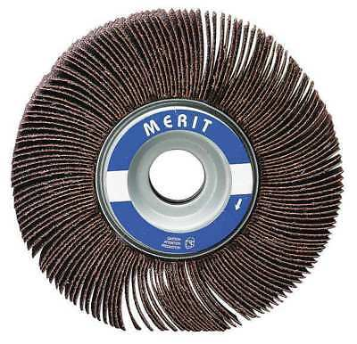 Merit 08834137373 Flap Wheel,2 Dia,1 W,Shk 1/4, 180
