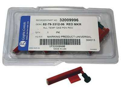 Chart Recorder Pen, Graphic Controls, 82-79-3312-06 - RED DIFFERENTIAL PENS