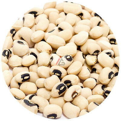 Black Eyed Beans (Black Eye Peas / Lobia / White Cowpeas) - 1Kg