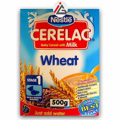 Nestle - CERELAC Baby Cereal with Milk and Wheat Stage 1 - 500 gm