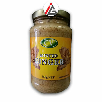 CV - Freshly Minced Ginger Paste - 350 gm