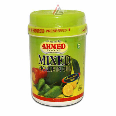 Ahmed Foods - Mixed Pickle in Oil - 1kg