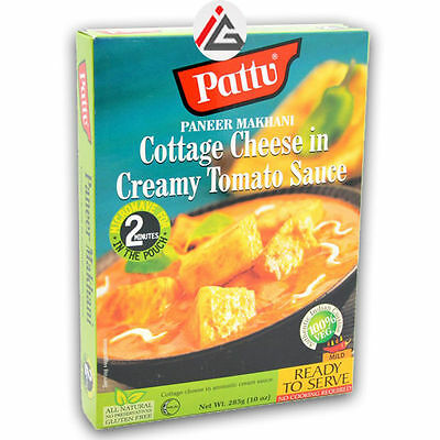 Pattu - Paneer Makhani (Cottage Cheese in Creamy Tomato Sauce) Ready To Serve -
