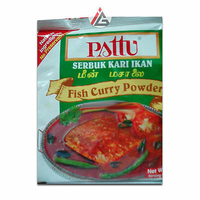 Pattu - Fish Curry Powder (Serbuk Kari Ikan) - 250 gm